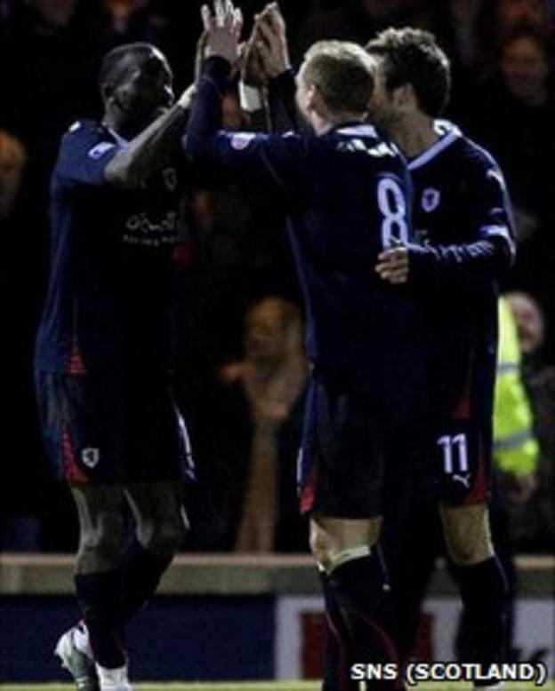 Raith Rovers have beaten Dunfermline twice this season