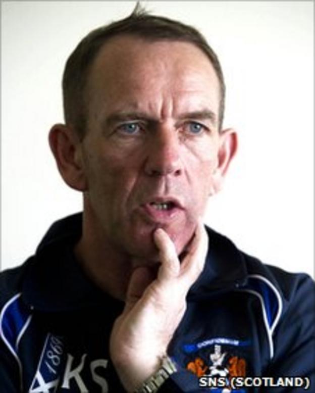 Kilmarnock caretaker manager Kenny Shiels