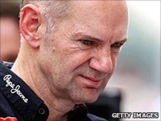 Red Bull technical director Adrian Newey
