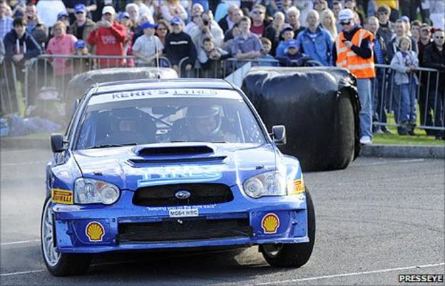 Derek McGarrity and co-driver James McKee in action during this year's Circuit of Ireland