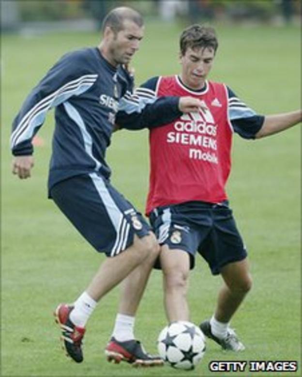 Zinedine Zidane & Francisco Pavon