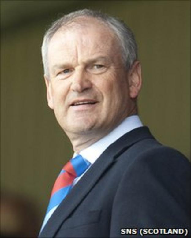 Inverness chairman George Fraser