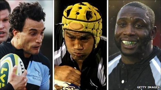 Tane Tu'pulotu, Filipo Levi and Gcobani Bobo
