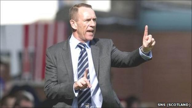 Kilmarnock interim manager Kenny Shiels