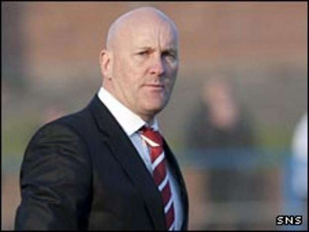 Clyde manager Jim Duffy