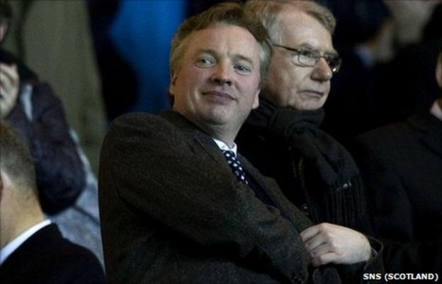 Rangers' new owner Craig Whyte