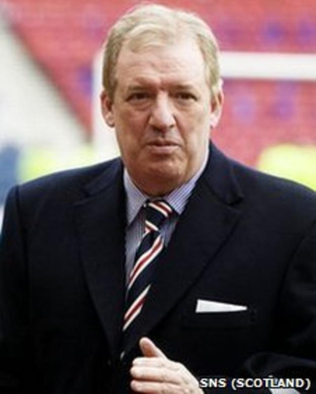 Former Rangers owner Sir David Murray