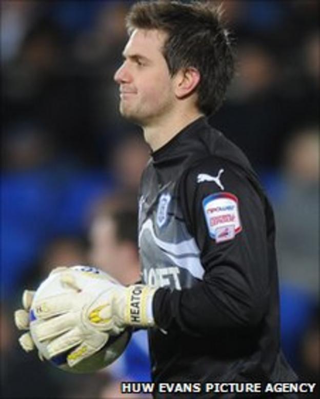 Cardiff City's Tom Heaton