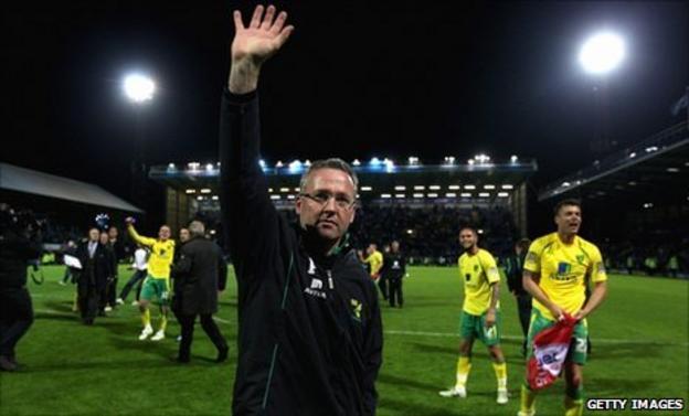 Paul Lambert Norwich City
