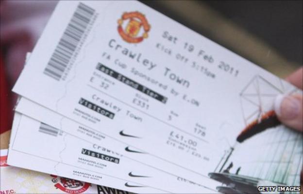 Man Utd tickets