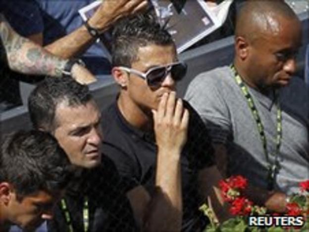 Real Madrid footballer Ronaldo