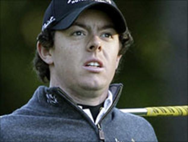 Rory McIlroy from Northern Ireland