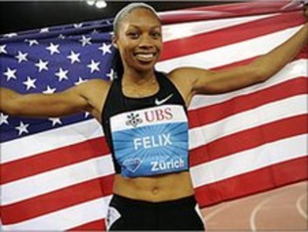America's Allyson Felix