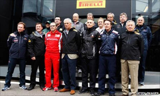 Formula 1 team principals