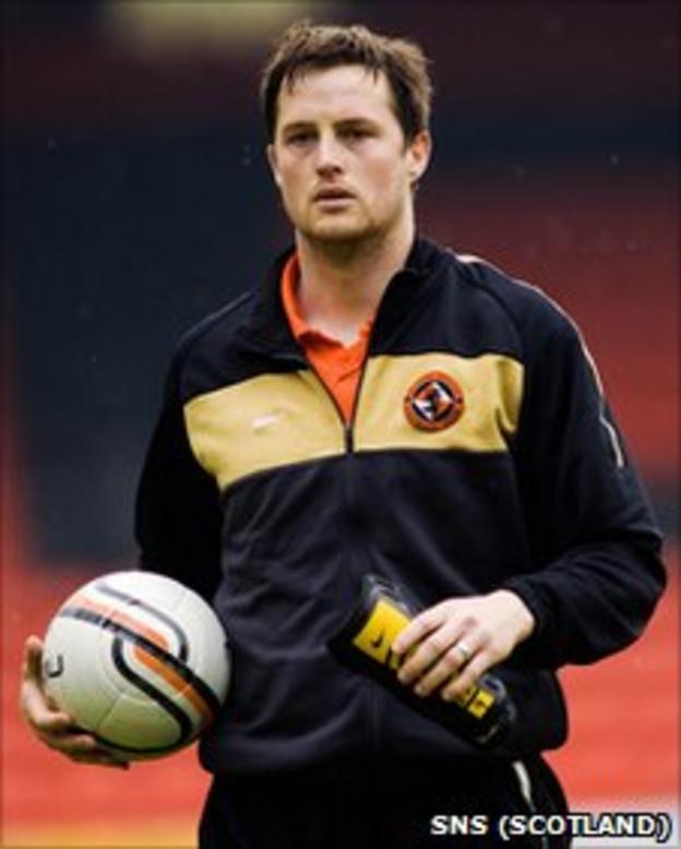Dundee United forward Jon Daly