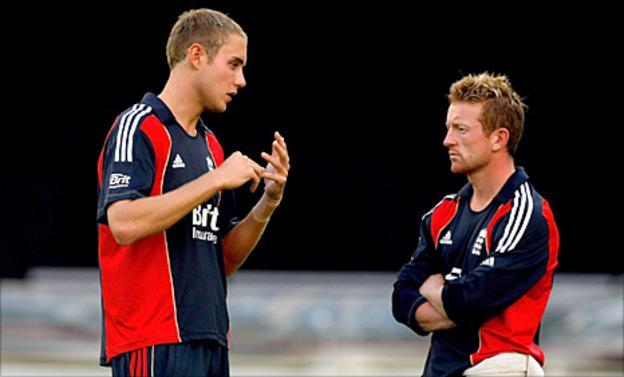 Stuart Broad talks to Paul Collingwood
