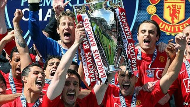 Manchester United last lifted the Premier League trophy in 2009