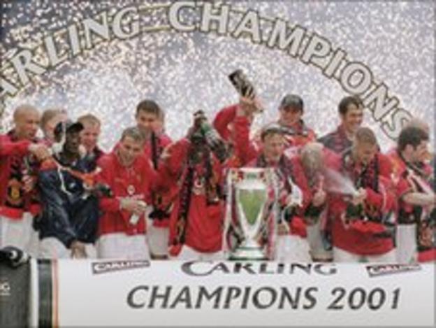 Man Utd 2001