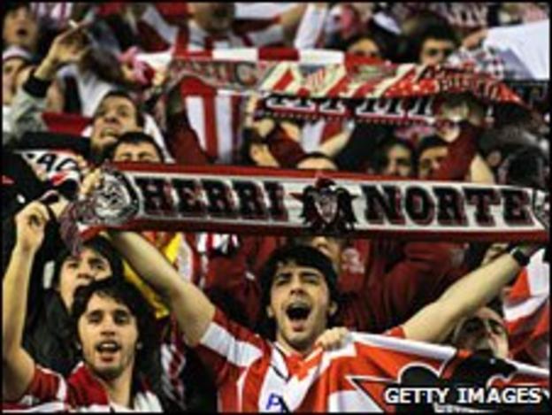 Ahletic Bilbao fans