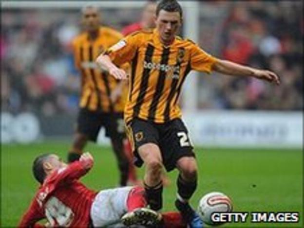 Hull midfielder Corry Evans
