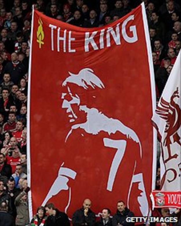 The Liverpool fans adore Kenny Dalglish