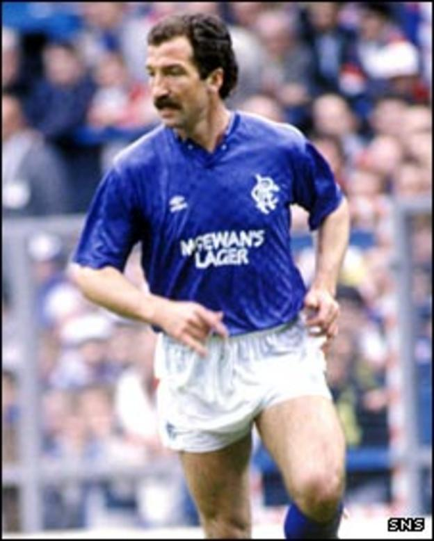 Former Rangers manager Graeme Souness