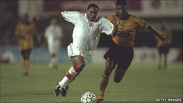 Former Zambia defender Harrison Chongo