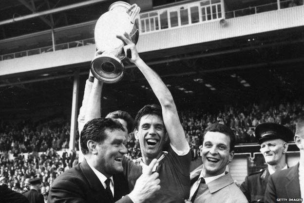 Cesare Maldini celebrates after winning