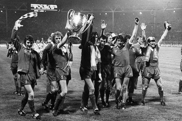 Liverpool celebrate their win