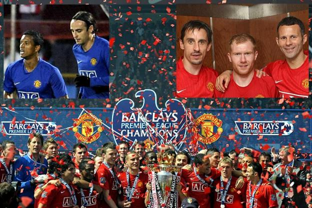 Manchester United win the league in 2009
