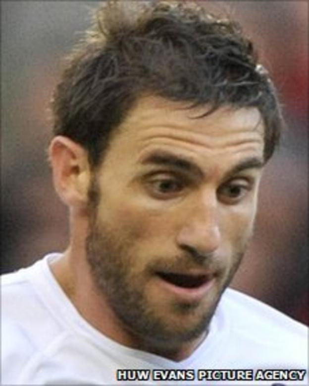 Swansea City's Angel Rangel