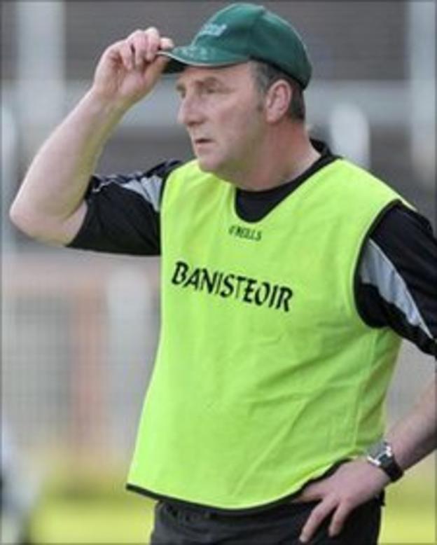 Derry manager Ger Rogan