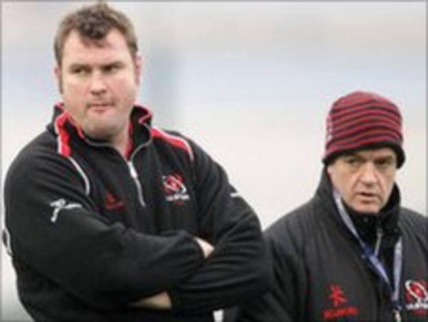 Jeremy Davidson (left) and Brian McLaughlin