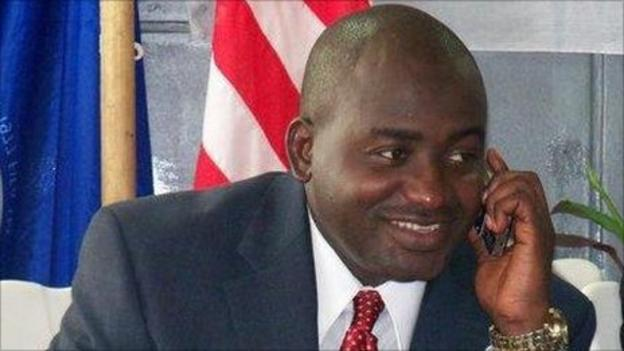 Liberia Football Association president Musa Bility