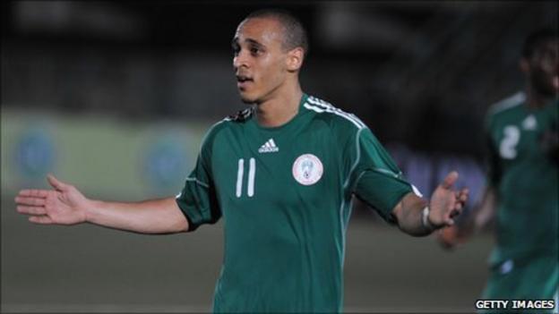 West Bromwich Albion and Nigeria striker Peter Odemwingie