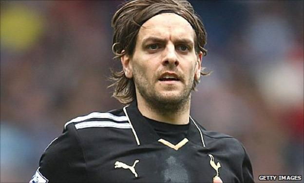 Jonathan Woodgate in action