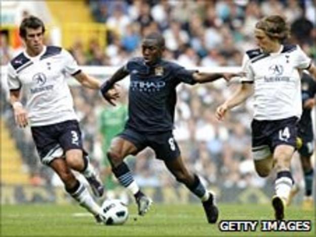 Gareth Bale (left) and Luka Modric (right)