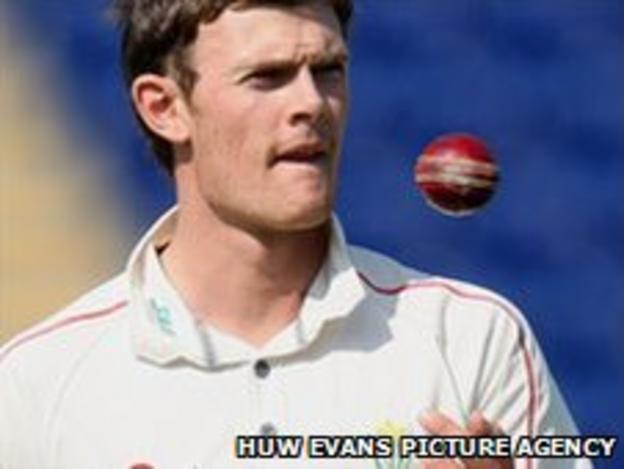 Glamorgan seamer James Harris has taken 26 wickets in five Championship matches