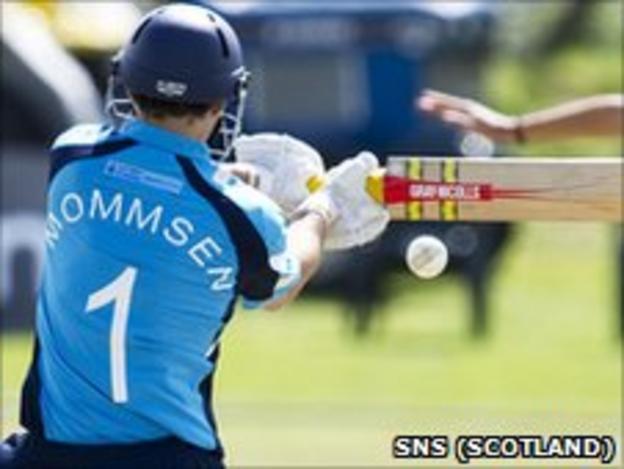 Preston Mommsen starred for Scotland