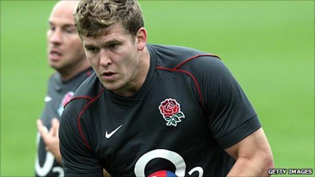 England and Gloucester forward Luke Narraway