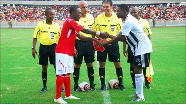 Simba prepare to host Mazembe in the African Champions League
