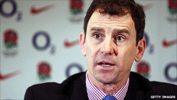RFU chief executive John Steele