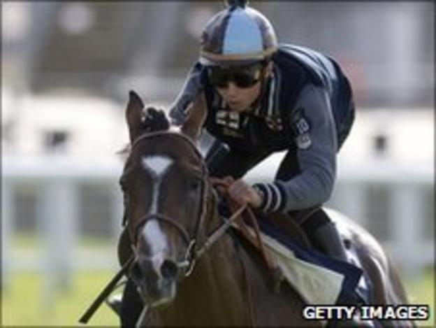 Mickael Barzalona on Pour Moi at Epsom
