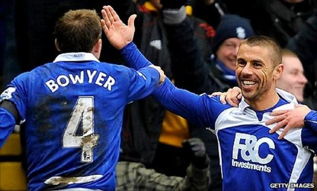 Lee Bowyer and Kevin Phillips
