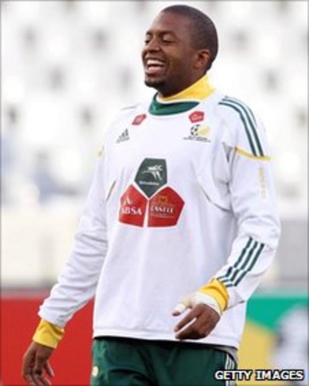 South Africa goalkeeper Itumeleng Khune
