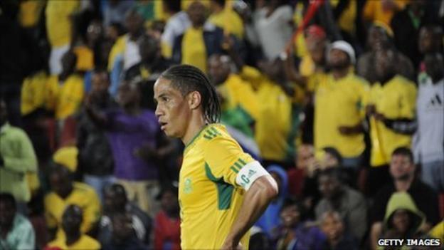 South Africa captain Steven Pienaar