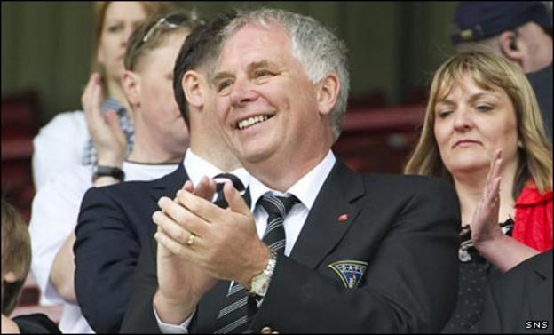 Dunfermline chairman John Yorkston