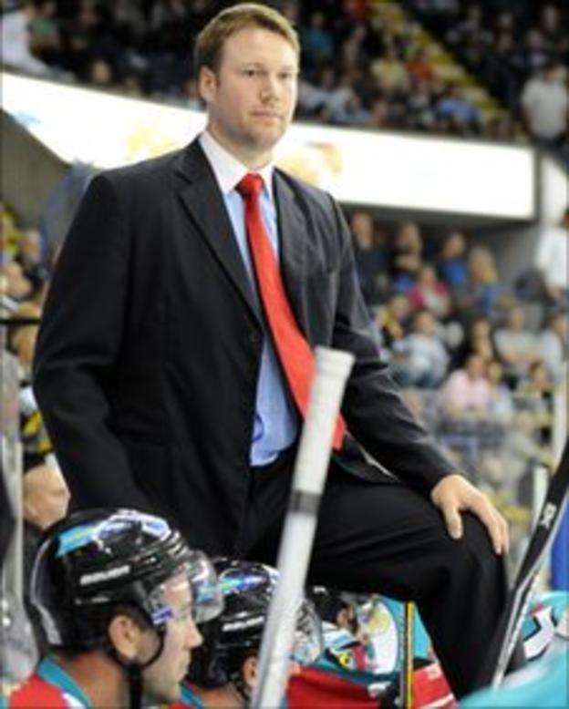 Belfast Giants coach Doug Christiansen
