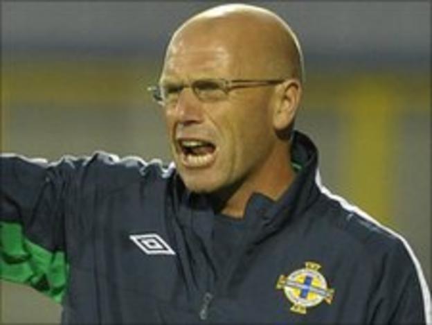NI U21 manager Steve Beaglehole