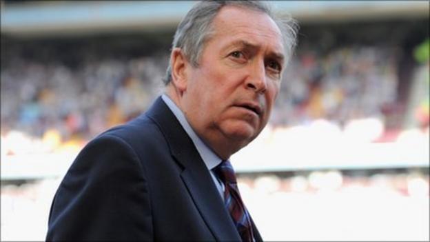 Gerard Houllier leaves Villa after nine months